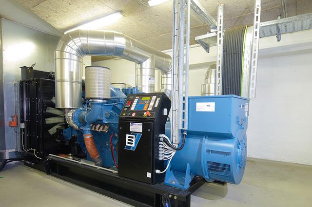 Rechenzentrum 1100 Wien Generator