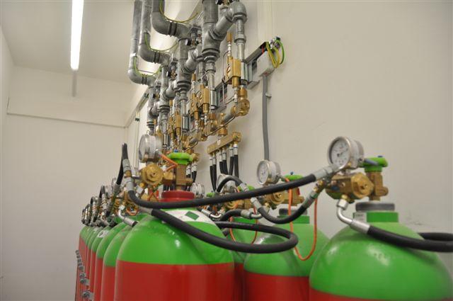 Rechenzentrum 1210 Wien Gas Löschanlage