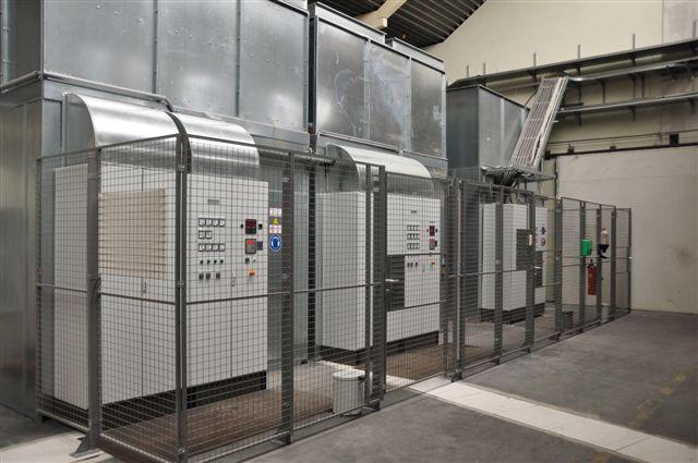 Rechenzentrum 1210 Wien Generatoren Außenansicht