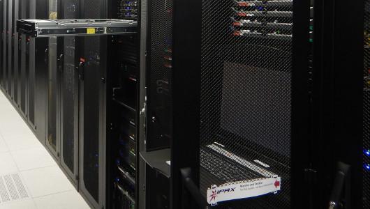 Serverhousing Rack Interxion Wien