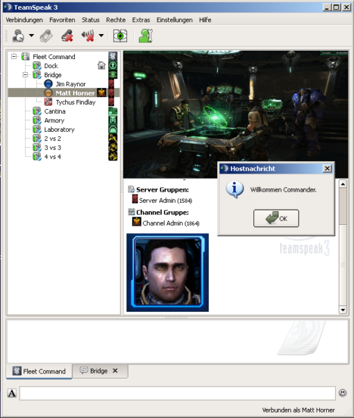 Starcraft Voiceserver